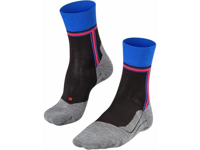 Falke RU4 The T Running Socks Men, czarny/szary